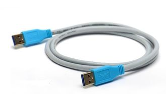 China Universal Signal Transmission Cable , Serial Usb 3.0 Data Cable With Tinned Copper Conductor supplier