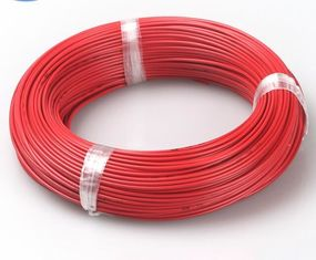 China PVC Insulation Automotive Cable Wire High Flexibility Thermo And Mechanical Strength supplier