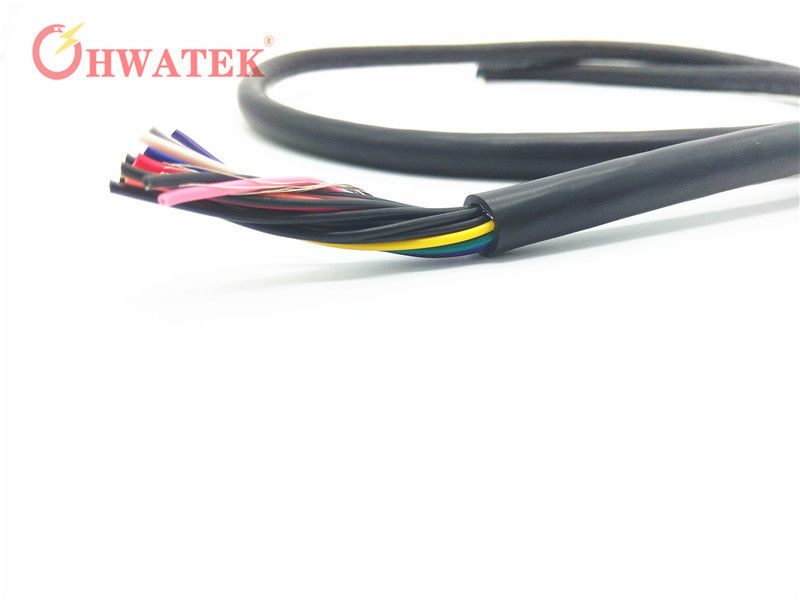 PUR Jacket Flexible Stranded Wire Power Cable UL20317 With 2 - 8 ...
