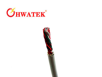 China Computer Connection Cables Low Voltage , Braided Electrical Cable UL21099 80 ℃ 30V  VW-1 distributor